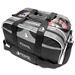 Path Double Tote Plus Clear Top Black/Silver