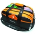 Path Double Tote Plus Clear Top Black/Orange