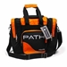 Path Single Deluxe Tote Black/Orange