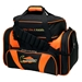 Double Deluxe Tote Black/Orange