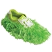 Fun Shoe Covers Fuzzy Lime