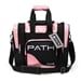 Path Single Deluxe Tote Black/Pink Black Light Responsive