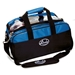 Basic Clear Double Tote Black/Blue